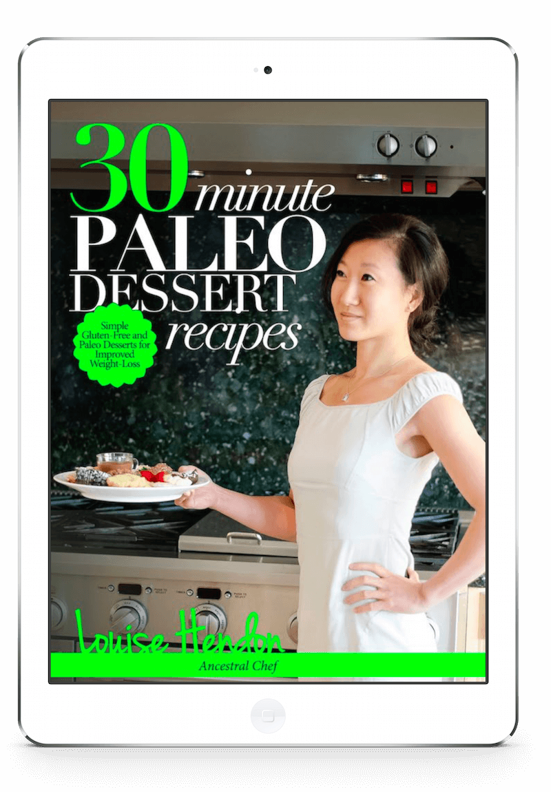 paleo dessert recipes cookbook