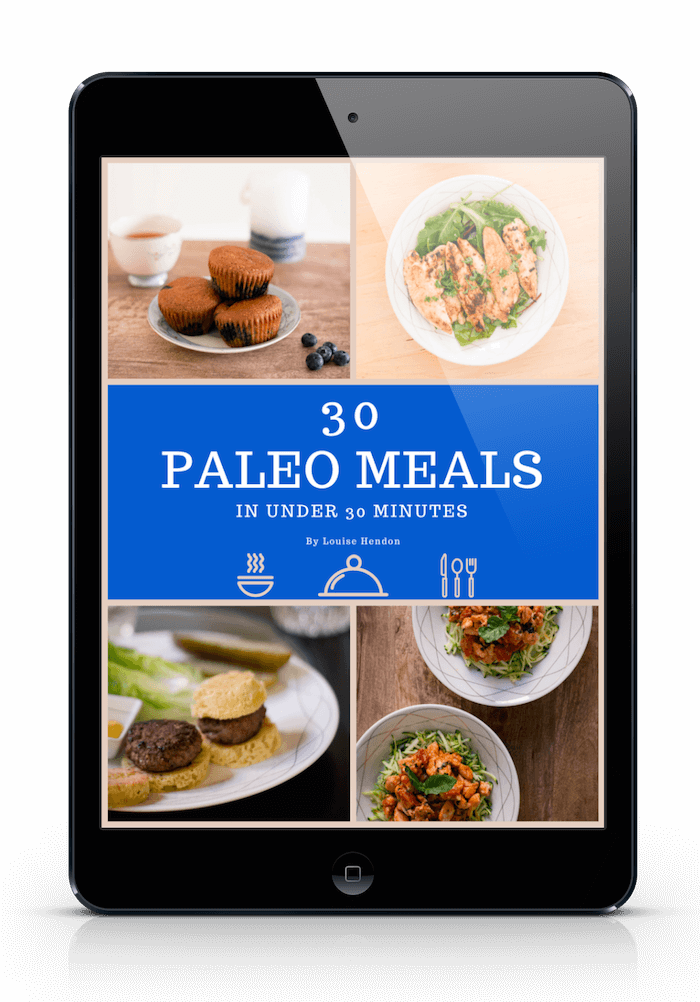 30 Paleo Meals cookbook