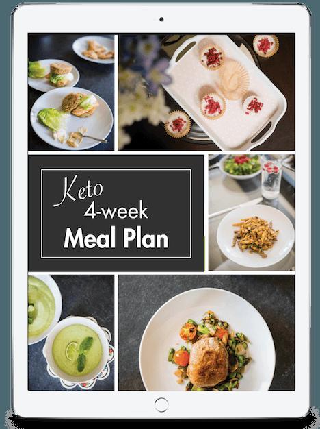 4-week ketogenic diet meal plan