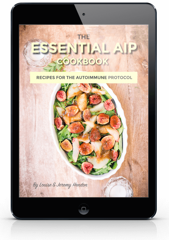 the essential AIP cookbook ipad image