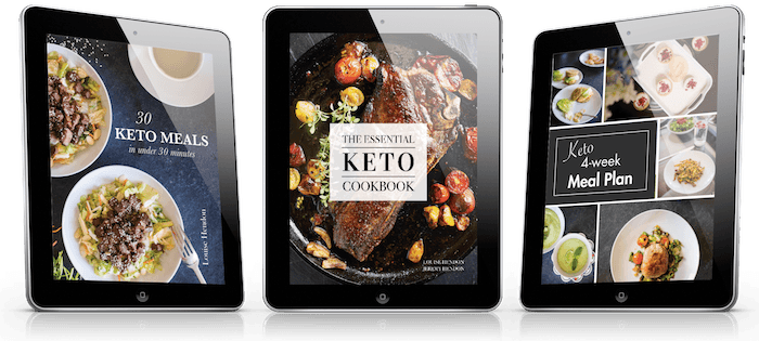 ketogenic diet cookbook preview