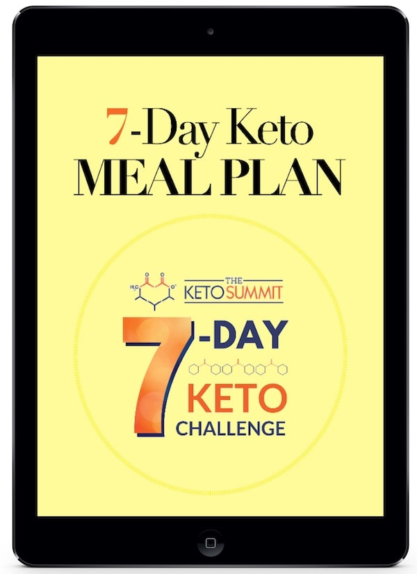 7 Day Challenge Meal Plan Cover